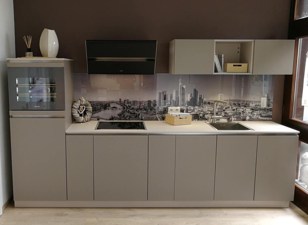 Küchenrückwand aus Glas Motiv Frankfurt